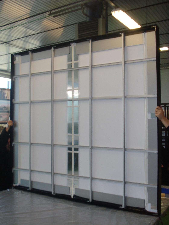 Marco aluminio led textil - Reactiva Publicidad, Nuevos soportes ...